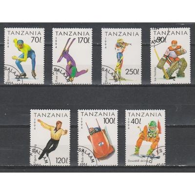 Tanzanie - Jeux olympiques - yt.1492/98 - Cote €3.50