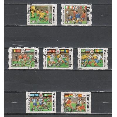 Tanzanie - Coupe du monde - yt.1715A/G - Cote €6