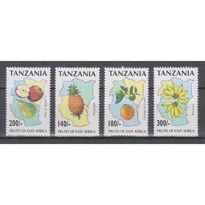 Tanzanie - Fruits - yt.2012/15 neufs ** - Cote €7