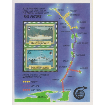 Vierges - Navires - yt.BF32 neuf ** - Cote €4.50