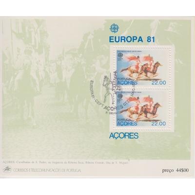 Açores - Europa 1981 - yt.BF2 oblitéré - Cote €3.25