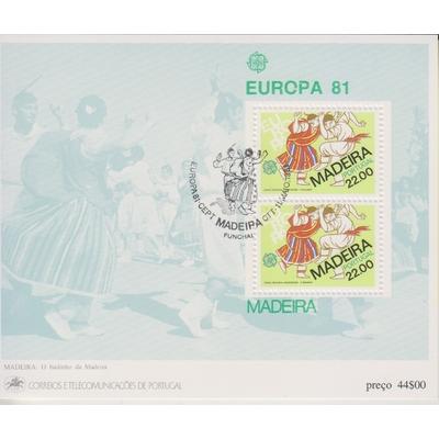 Madeire - Europa 1981 - yt.BF2 oblitéré - Cote €3,20