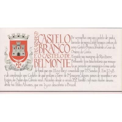 Portugal - Châteaux - Carnet neuf ** - Cote €4,50