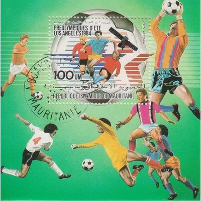 Mauritanie - Football - yt.BF39 - Cote €1.80