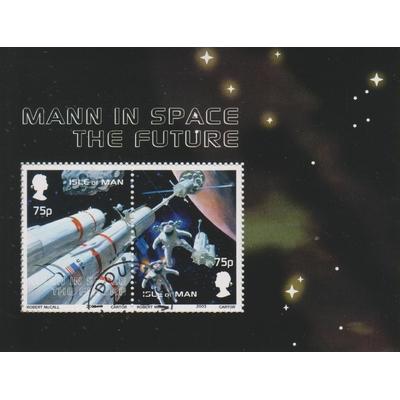 Man - Espace - yt.BF51 - Cote €5.50