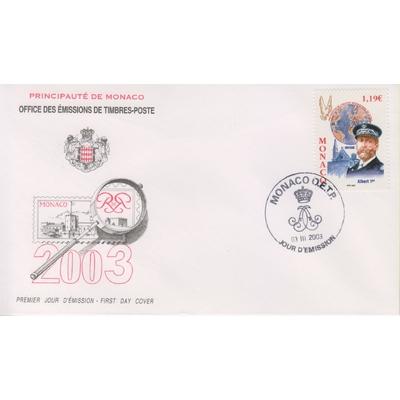 Monaco - Albert 1er - FDC de 2003
