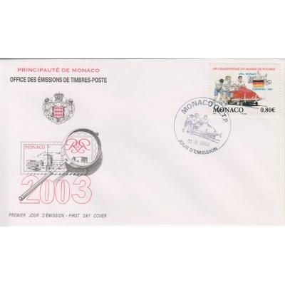 Monaco - Sport - FDC de 2003