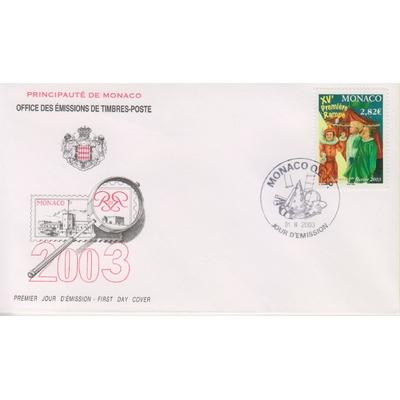 Monaco - Cirque - FDC de 2003