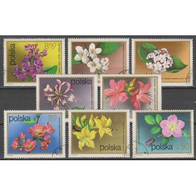 Pologne - Fleurs - yt.2058/65 - Cote €2