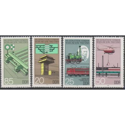 Allemagne orientale - Chemin de fer - yt.2591/94 neufs ** - Cote €3.50