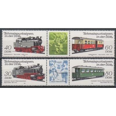 Allemagne orientale - Trains - yt.2497A/00A neufs ** - Cote €5