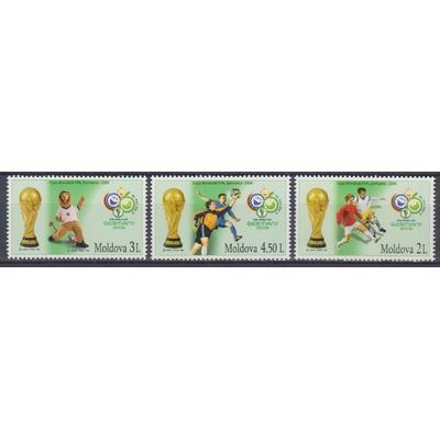 Moldavie - Football - yt.477/79 neufs ** - Cote €12