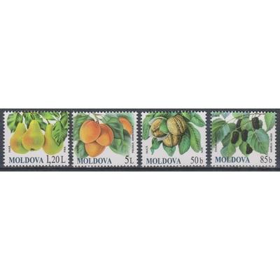 Moldavie - Fruits - yt.583/86 neufs ** - Cote €8.50