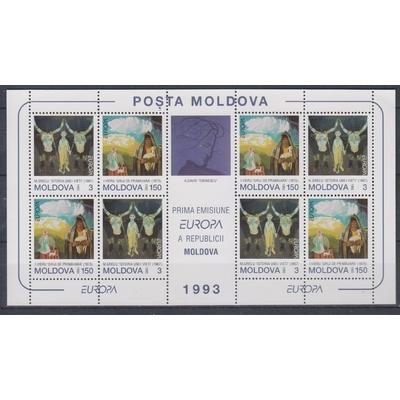 Moldavie - Europa 1993 - yt.BF5 neuf ** - Cote €18