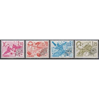 France - Signes du zodiaque - yt.154/57 neufs ** - Cote €4.75