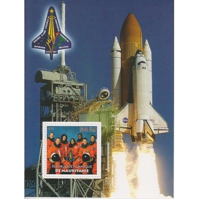 Mauritanie - Espace - Feuillet neuf ** de 2003