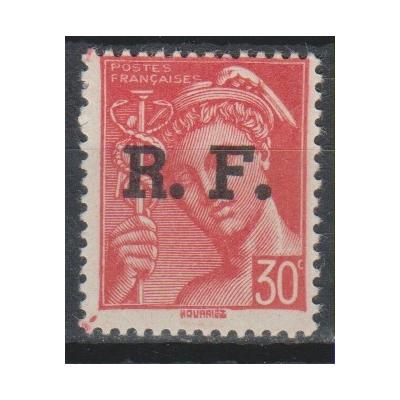 France - Surcharge de libération de 1944 - Timbre neuf **