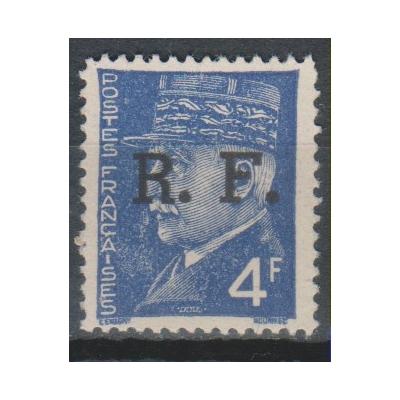 France - Surcharge de libération de 1944 - Timbre neuf * - Cote €1.20