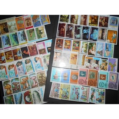 Nicaragua - Collection de timbres neufs ** tous differents