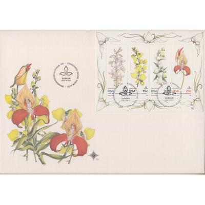 Afrique du sud - Orchidées - FDC de 1981