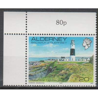 Alderney - Phare - yt.42 neuf ** - Cote €1,50