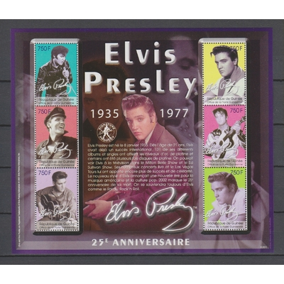 Elvis Presley - Collection de feuillets neufs ** (4 photos) - Forte Cote