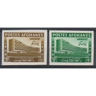 Afghanistan - UNESCO - yt.481/82 non dentelés neufs ** - Cote €8
