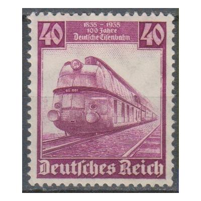 Allemagne - Locomotive - yt.542 neuf * - Cote €17