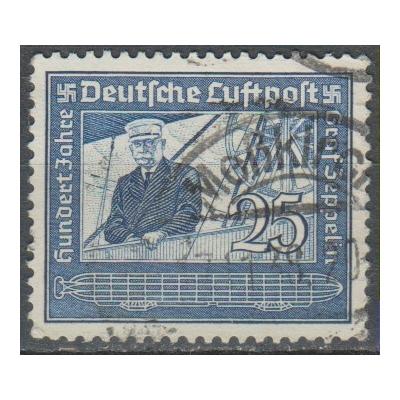Allemagne - Zeppelin - yt.A57 oblitéré - Cote €1,50