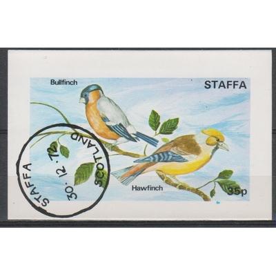 Staffa - Oiseaux - Feuillet de 1972