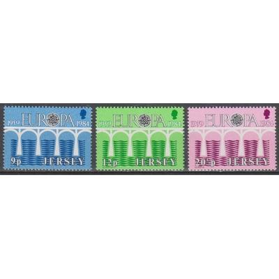 Jersey - Europa 1984 - yt.314/16 neufs ** - Cote €2.50