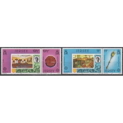 Jersey - Europa 1983 - yt.293/96 neufs ** - Cote €4