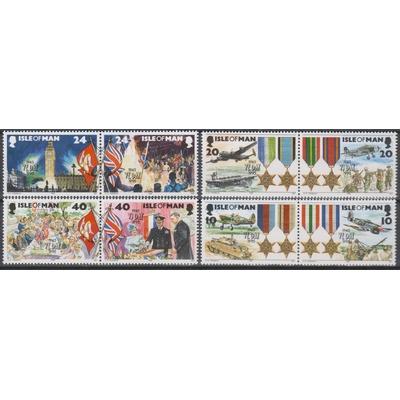 Ile de Man - Seconde Guerre Mondiale - yt.667/74 neufs ** - Cote €9.50