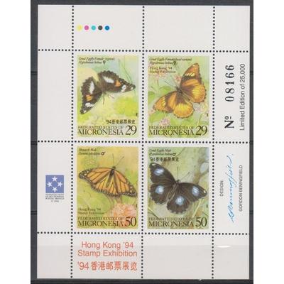 Micronésie - Papillons - yt.BF15 neuf ** - Cote €4,50