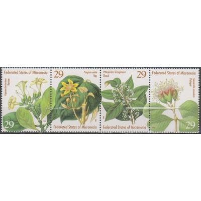 Micronésie - Flore - yt.296/99 neufs ** - Cote €3.50