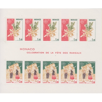 Monaco - Europa de 1981 - yt.BF19 neuf ** - Cote €23