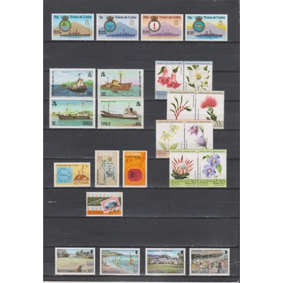 Commonwealth - Grosse collection de timbres neufs ** (8 photos) - Cote +€90