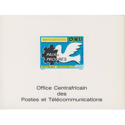 Centrafricaine - Epreuve ONU - Neuve **