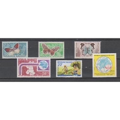Madagascar - Petit lot de timbres neufs ** - Cote €6.50
