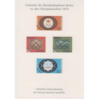 Allemagne - Feuillet souvenir neuf ** de 1976
