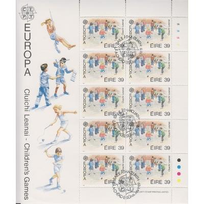Irlande - Europa 1989 - Feuillet oblitéré - Cote €20