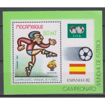 Mozambique - Football - yt.BF11 neuf ** - Cote €5,50