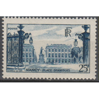 France - Nancy - yt.822 neuf * - Cote €7.65