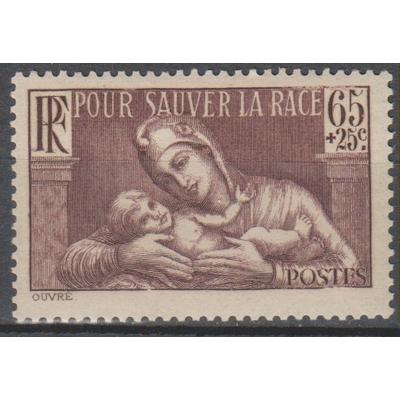 France - Sanitaire - yt.356 neuf * - Cote €3.85