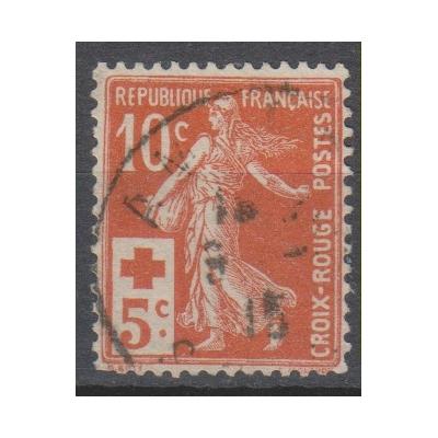 France - Croix Rouge - yt.147 oblitéré - Cote €4
