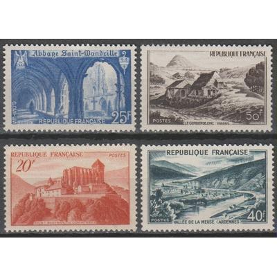 France - Tourisme - yt.841A/43 neuf * - Cote €12.30