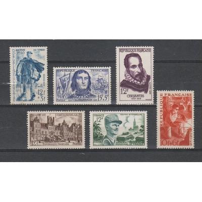 France - Sélection de timbres neufs * - Cote €8,50
