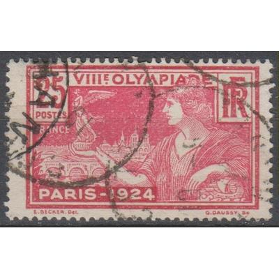 France - Jeux olympiques - yt.184 oblitéré - Cote €0,90