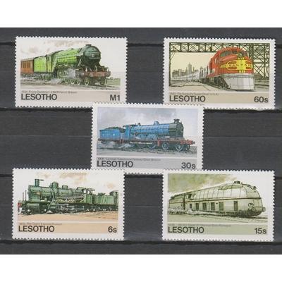 Lesotho - Trains africains - Cote €7.50
