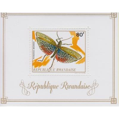 Rwanda - Papillon - yt.BF27 neuf ** - Cote €9